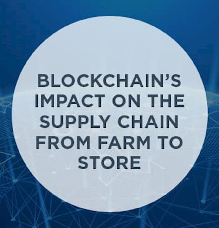 Blockchain's impact on the supply chain from farm to store